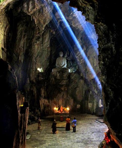 Marble Mountains in Da Nang Vietnam