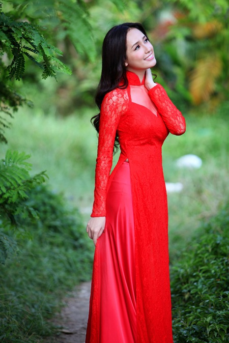 Áo Dài - The Vietnamese Long Dress