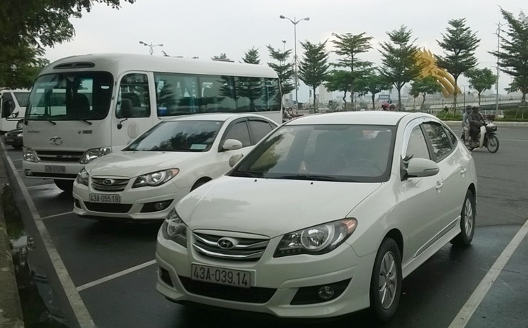 transfer from danang airport to hoi an Vietnam
