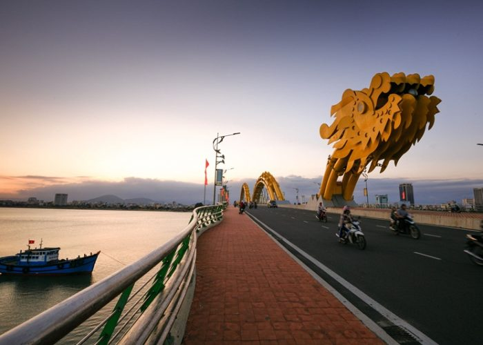 Dragon Bridge in Danang Vietnam
