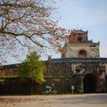 Citadel Gate in Hue Vietnam