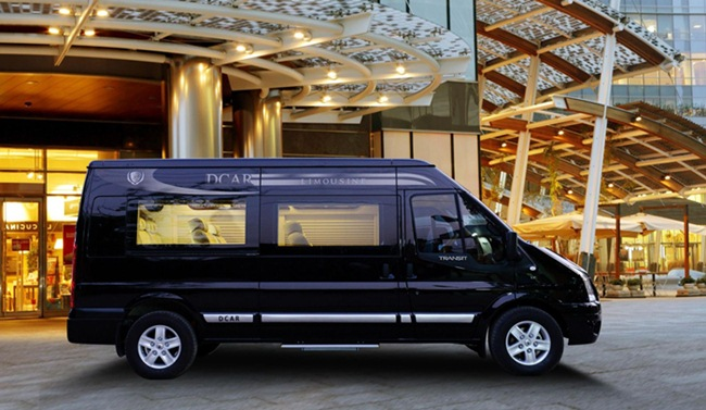 Limousine Van from Hanoi to Sapa