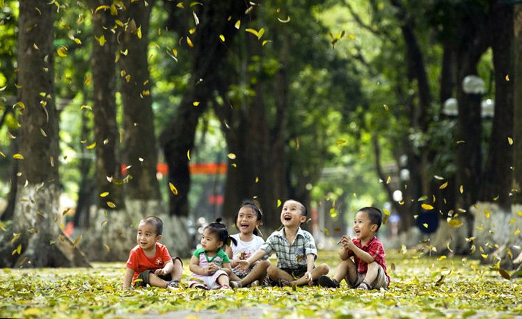 Hanoi Vietnam in Autumn