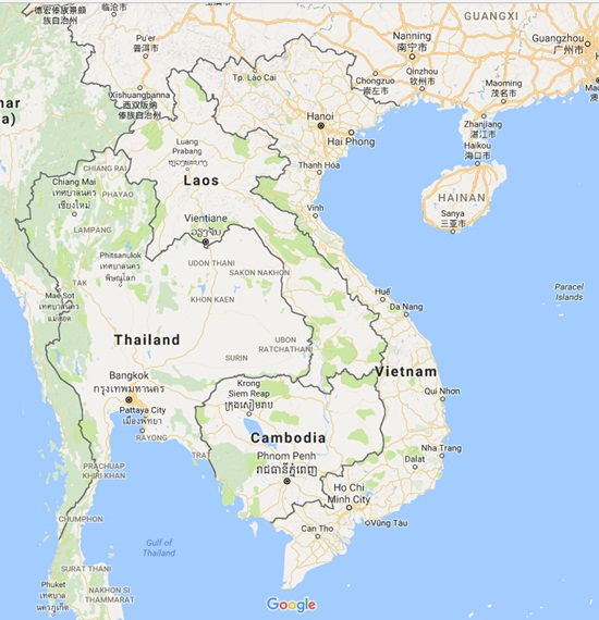 Where is Vietnam in the world map? - Vietnamdrive