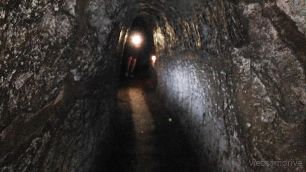 inside Vinh Moc Tunnels