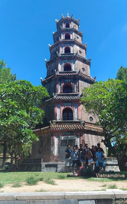 Thien Mu Pagoda in Hue City