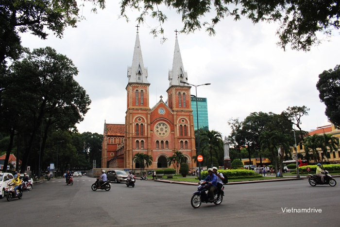 Notre Dame Cathedral or Duc Ba Church, Sai Gon (Ho Chi Minh City)