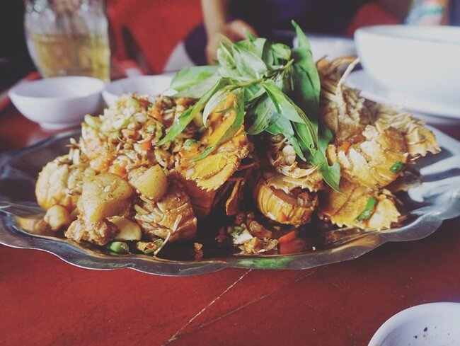 Seafood in Phu Quoc