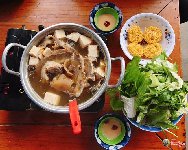 Beef Hot Pot Restaurant in Da Lat City