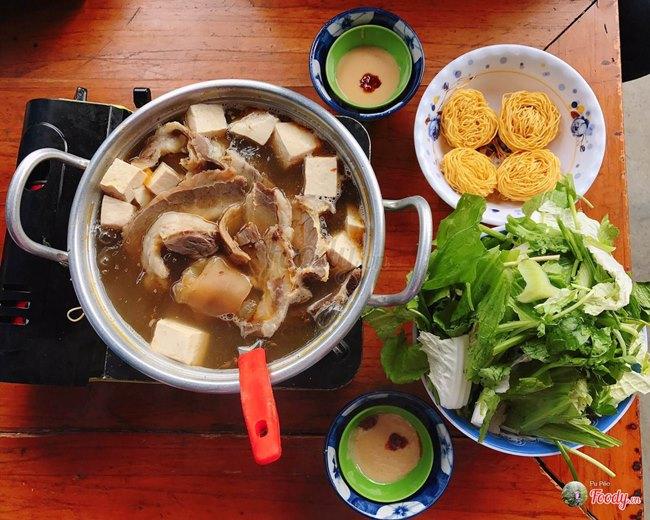 Beef Hot Pot Restaurant in Da Lat City