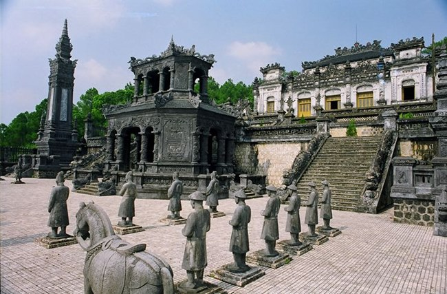 Khai Dinh Tomb - Hue