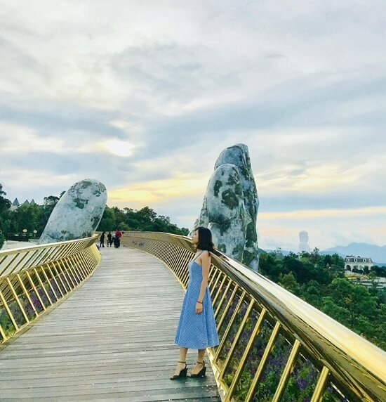 Dragon Bridge in Bana Hills Danang