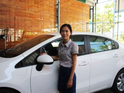 Vietnam drive car