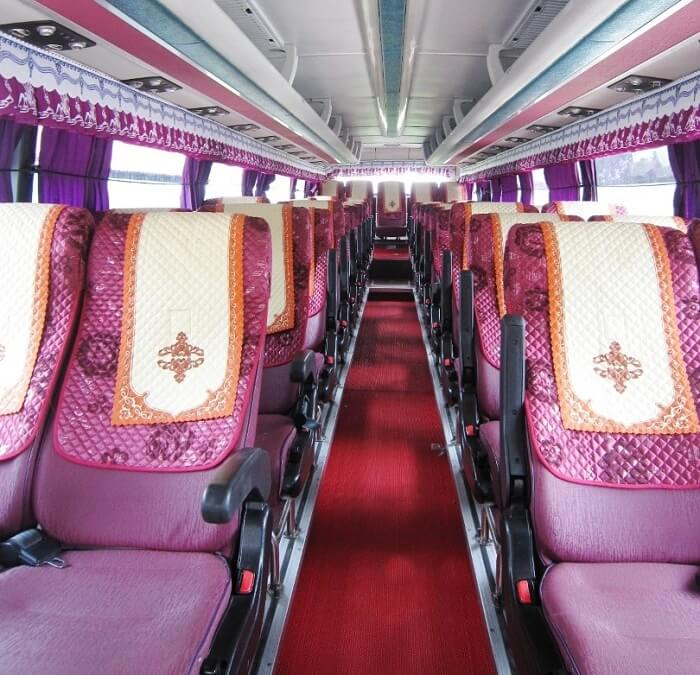 45-seat bus rental