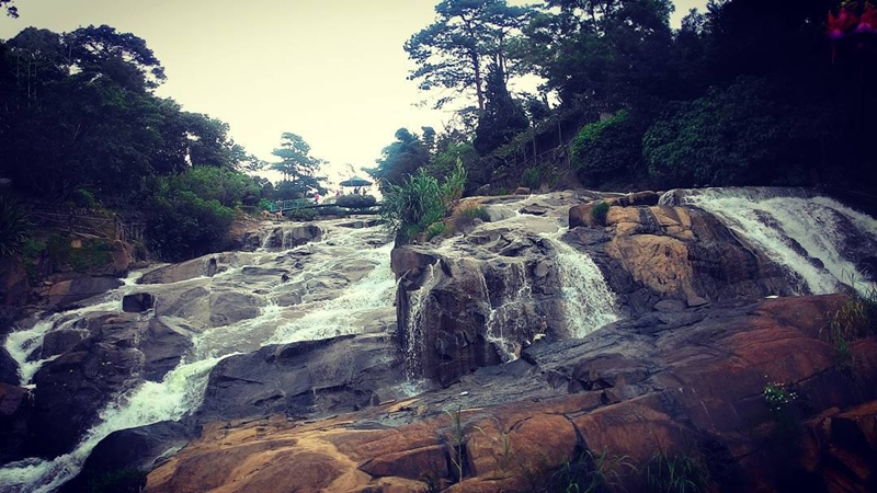 Cam Ly Waterfall in Dalat