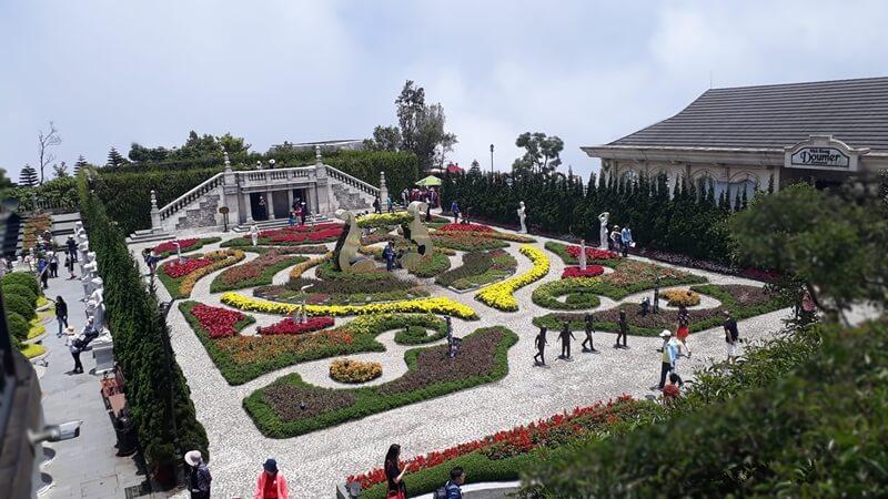 Flower Garden in Ba Na Hills