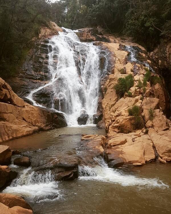 Hang Cop Waterfall - Tiger Waterfall