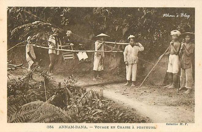 Ancient way to Ba Na Hills