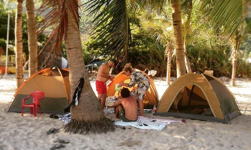 Camping in Cu Lao Cham