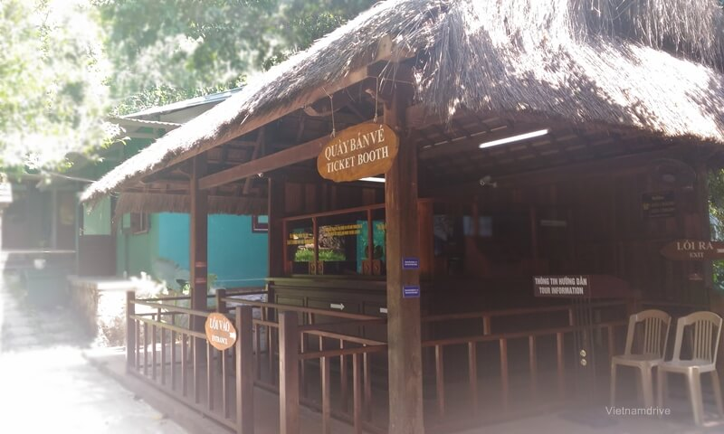 Ticket Counter in Paradise Cave