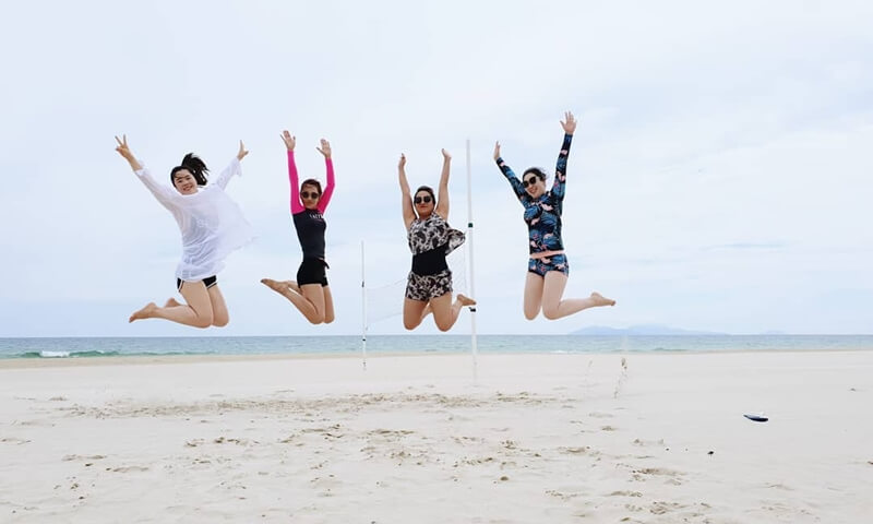 Non Nuoc Beach Danang Vietnam