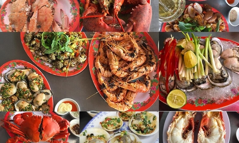 Seafood restaurants in Da Nang